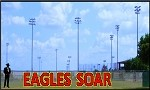 4' Eagles Soar Letters