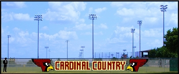 6' Cardinal Country Design