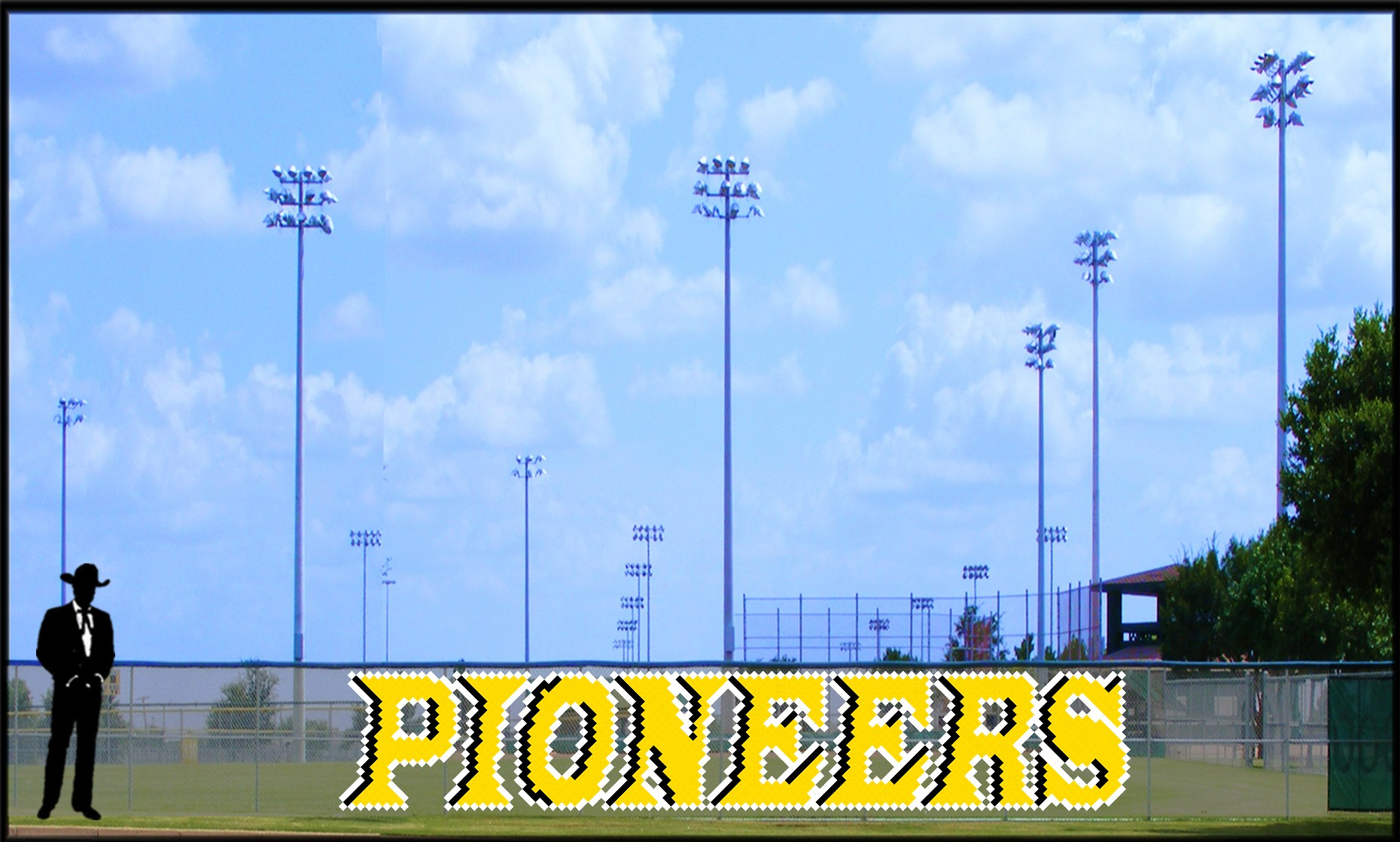 4.5' x 25 Pioneers Letters