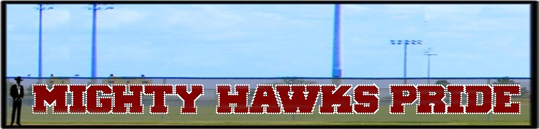 4' x 60' Custom Mighty Hawks Pride Letters