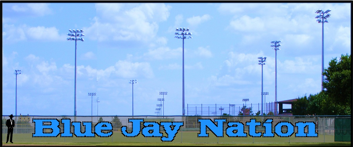 5' Blue Jay Nation - Lowercase 2 Colors