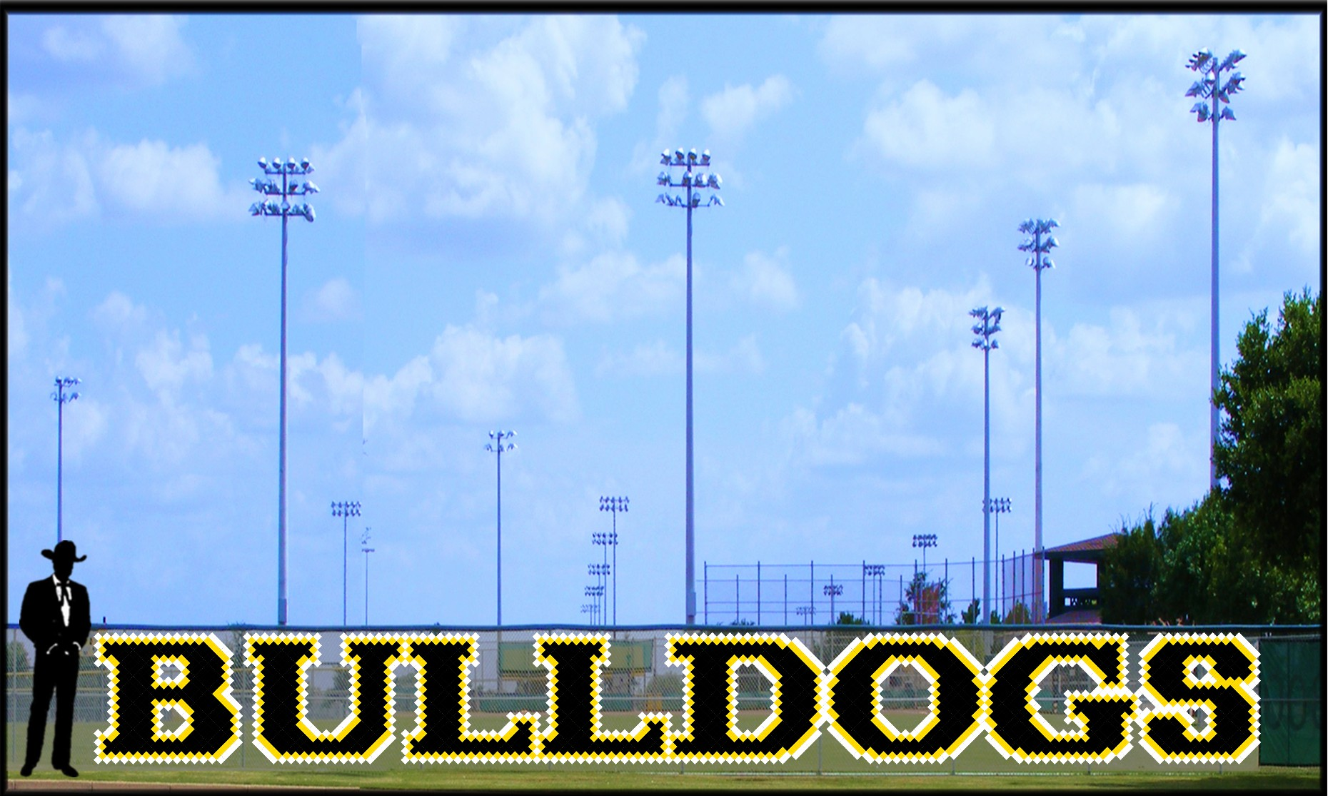 4' x 40 Bulldogs Letters