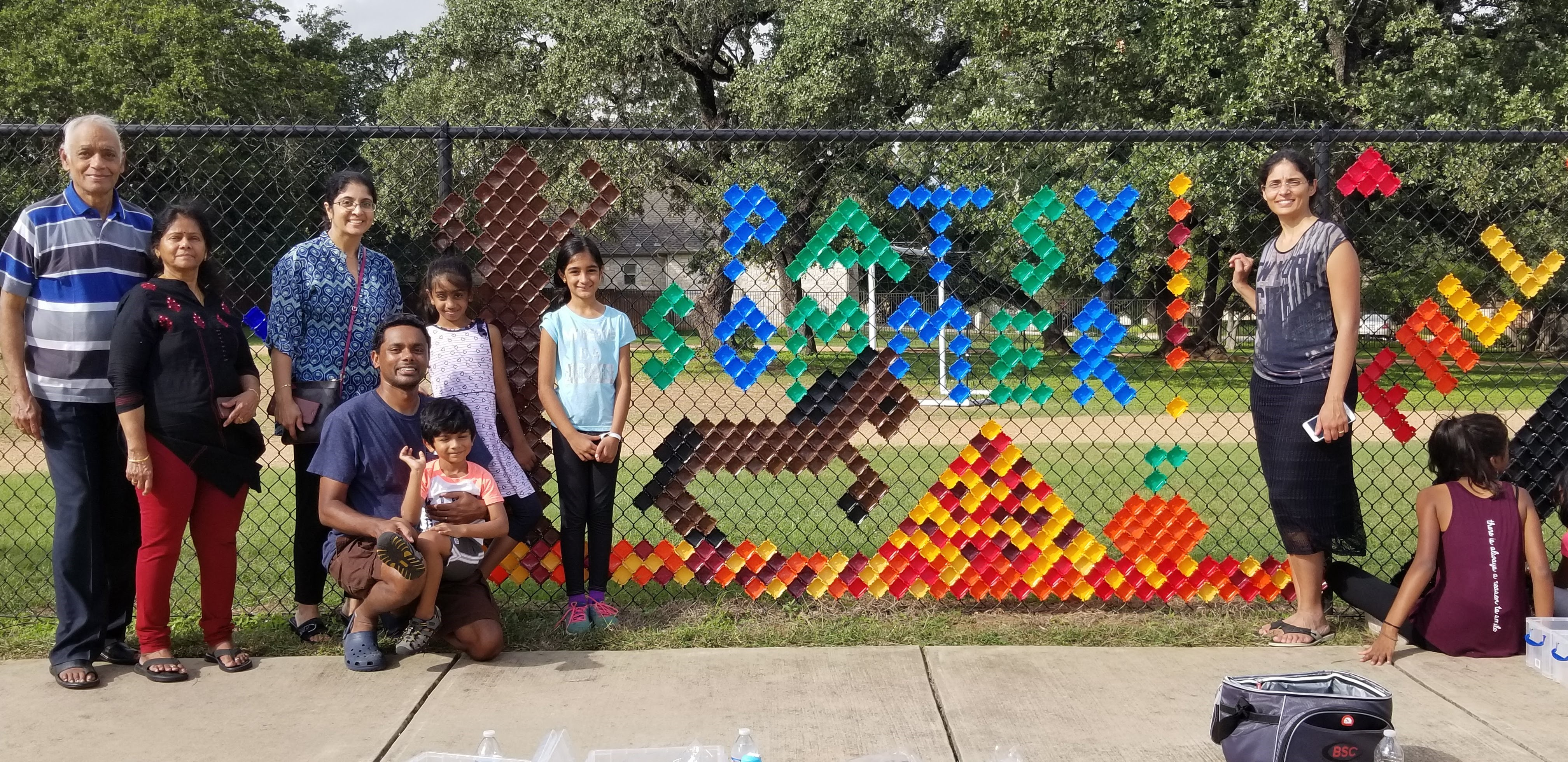 RoundRock ISD Makerspace Hosts Fence Art Content