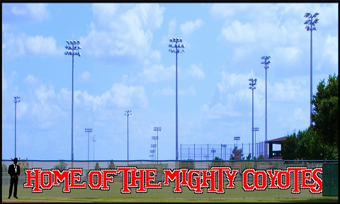 5' Home of the Mighty Coyotes