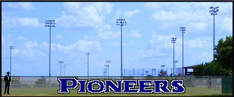 3' x 25 Pioneers Letters