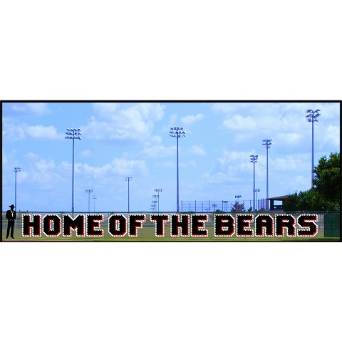 4' Home of The Bears