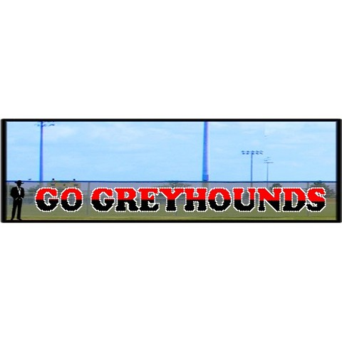 4' x 50' Two-Tone Go Greyhounds