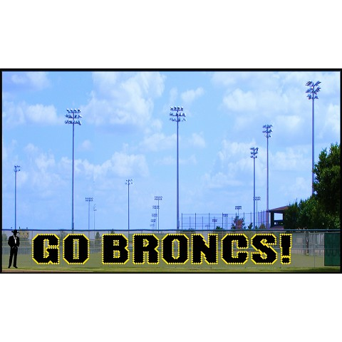 5' Go Broncs! - 2 Colors