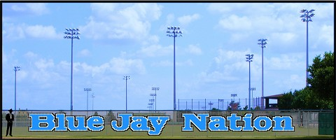 5' Blue Jay Nation - Lowercase 3 Colors