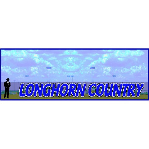 5' x 60' Longhorn Country