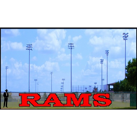 5' Rams Letters (2 Colors)