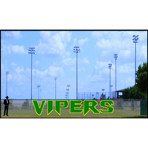 5' Vipers Custom Letters