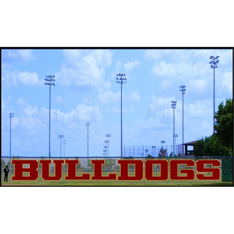 7' Bulldogs Letters