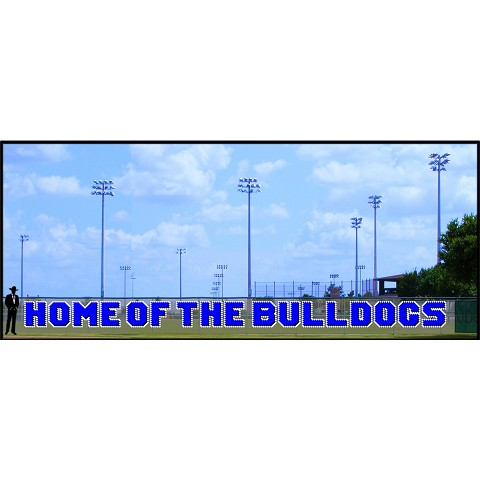4' Home of the Bulldogs