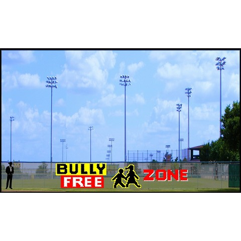 6' x 31' Bully Free Zone with Kids